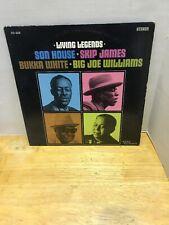 Son House Skip James Bukka White Big Joe Williams Living Legends Vinyl