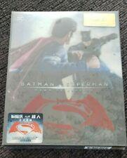 BATMAN V SUPERMAN DAWN OF JUSTICE 3D Blu-ray HDZeta Steelbook Double Lenticular
