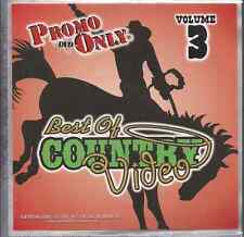 Promo only video classics:Best of Country  V3 Rascal Flatts ALAN JACKSON