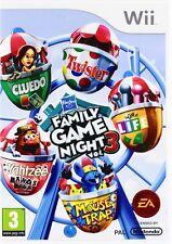 Hasbro Family Game Night 3 NEUF et scellé Wii HASBRO FAMILY GAME NIGHT VOL 3 III