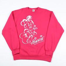 Vintage Minnie Mouse Disney Sweatshirt | Women's XL | Retro Sweat Jumper Mickey