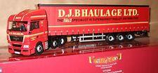 Corgi CC15206 MAN TG-X (XLX) with curtainsider D.J.B Haulage Ltd *NEW*