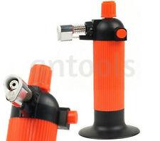 Piezo Self Lighting Butane Blowtorch Gas Micro Torch Craft Or Creme Brulee