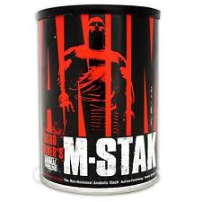 Universal Nutrition Animal M-Stak Testosterone Booster Tribulus Muskelaufbau