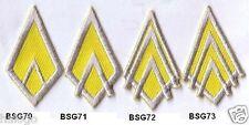 Bsg Officer Rank Insignia - Pick One Design - Bsg70-74