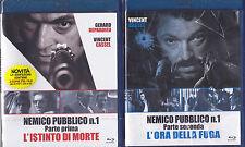 2 Blu-ray + 2 Dvd NEMICO PUBBLICO N. 1 ~ PARTE PRIMA + SECONDA con V.Cassel 2009