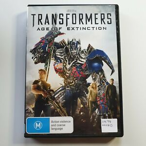 Transformers: Age of Extinction | DVD Movie | Mark Wahlberg | Sci-Fi/Action
