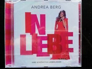 """Andrea Berg """"In Liebe"""" CD """"NAGELNEU"""" EINGESCHWEIßT """"Ihre Schönsten Liebeslieder"""""""