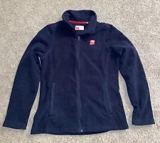 Chick-Fil-A Team Member Navy Blue Fleece Zip Up Jacket Small