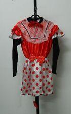 Vestito Costume Carnevale adulto TOPINA Taglia M donna ispirato a Minnie C58