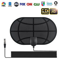 980 Mile Indoor Digital TV Antenna Aerial Freeview 4K 1080P HDTV HD VHF/UHF