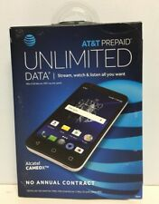 AT&T Prepaid - Alcatel CAMEOX 4G LTE with 16GB Memory Cell Phone (New)