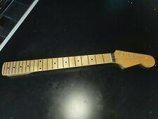 Flame Maple Floyd Rose Nut Finish Custom Shop Guitar Neck For Fender Strat #87