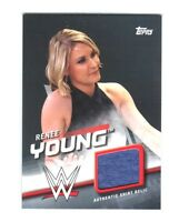 WWE Renee Young 2016 Topps Divas Revolution Event Used Shirt Relic Card 23 of 50