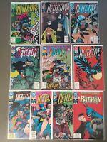 Detective Comics BATMAN 646 647 648 649 650 651 652 653 654 655 VF+ 10 BOOK SET