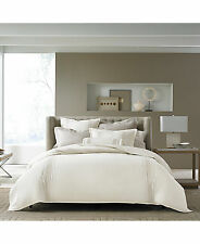 NWT Hotel Collection European Linens Woven Accent KING Bedskirt MSRP $185