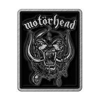 Motorhead Logo Warpig Rectangular Metal Pin Badge 30mm x 25mm (rz)