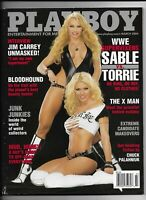 March 2004 Playboy Magazine ~ WWE Sable VS Torrie Cover ~ FINE
