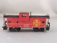 Athearn - Santa Fe - Wide Vision Caboose + Wgt & Windows # 999831