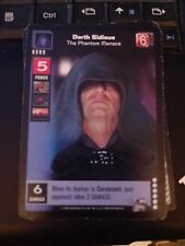 Young Jedi TCG Enhanced Darth Sidious, The Phantom Menace NrMint-Mint