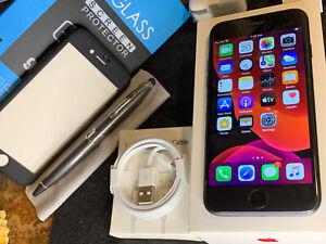 Apple iPhone 7 (32gb) AT&T/ Cricket (A1778) Retina Black: MiNT ExTRAs {iOS13}94%