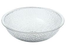 "Cambro PSB8176 - CamWear 8"" Round Pebbled Salad Bowl Clear"