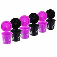 Refillable Reusable Single K-Cups Filter Pod for Keurig 2.0 Coffee Makers
