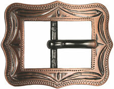 Western Equestrian Cowboy Tack Cart Buckle Copper Plated 5/8""