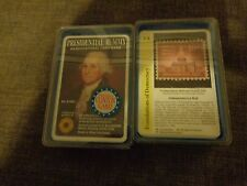 VINTAGE SMITHSONIAN INSTITUTE PRESIDENTIAL RUMMY &  HISTORY RUMMY CARD GAMES