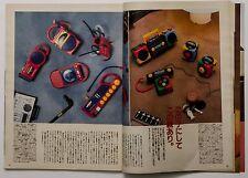 BRUTUS Japanese Magazine 1988 Featuring Designed Item SONY Video 8