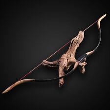 Handmade Traditional Both Hand Recurve Bow Archery Hunting Shooting Longbow 50lbs.