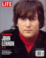 LIFE MAGAZINE SPECIAL ISSUE: REMEMBERING JOHN LENNON AT 75 (2015) FREE SHIP!