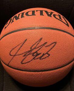 🔥LeBRON JAMES SIGNED BASKETBALL UDA Upper Deck COA NBA -LAKERS