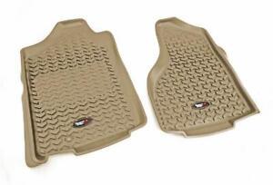 Floor Mat Set All Terrain Floor Liner, Front Pair, Tan; 02-11 Ram 1500-3500
