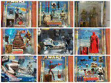 Star Wars Clone Wars Ultimate Collection Lot Darth Vador Han C3po R2D2 Yoda New