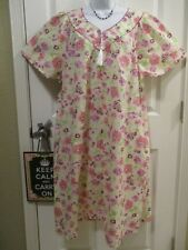 ANTHONY RICHARDS Womens Zip Front House Dress Duster Lounger 2X 2XL Cotton/Poly