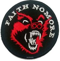 Faith No More Rock Band Logo Iron on Sew on Embroidered Patch