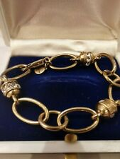 Stella Dot Bracelet Gold Accent With Crystal