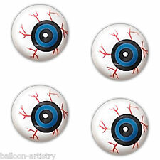 4x Halloween Horror Gruesome Eyeballs Eyes Balls Gore Party Gifts Toys Favours