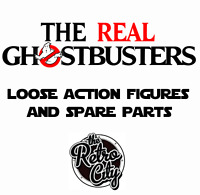 Vtg The Real Ghostbusters Figures Spare Parts Weapons & Accessories 80s Kenner