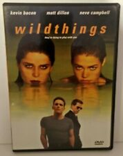 Wild Things (DVD, 1998, Rated, French and English) Kevin Bacon Matt Dillon