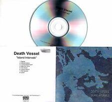 DEATH VESSEL Island Intervals 2014 UK numbered 8-trk promo test CD