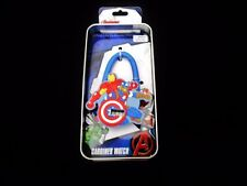 Avengers Carabiner Clip Watch Cartoon Themed