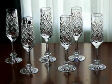 BALL Tall High quality CRYSTAL wine glasses/ GOBLETS, Set of 6, for white wine