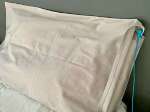 grounding earthing pillow case with internal flap for health & EMF protection