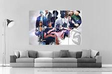 LEGENDARY RAPPER GANGSTA EMINEM 2PAC Wall Art Poster Grand format A0 Large Print