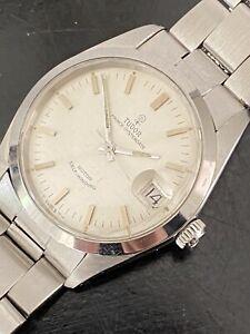 Vintage Tudor Oysterdate Small Rose 7996/0 Datejust Rolex Case, Armband, Krone