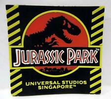 ▓ Universal studios singapore JURASSIC PARK logo black  fridge ref magnet