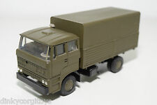 LION CAR LION TOYS 58 DAF 2800 TRUCK MILITARY ARMY MINT CONDITION RARE SELTEN