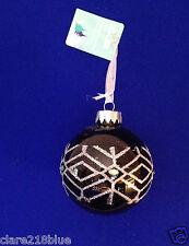 Boule de Noël Décoration Noire Arbre Sapin